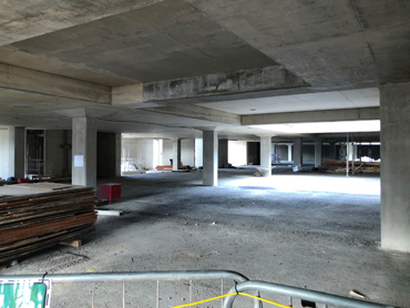 Sterling Estates - Podium Slab and Beams Projects in UK
